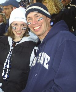 Our Engagement Photo - October 2007 - Penn State, PA