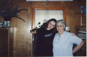 Rhea Junior & Rhea Senior, Thanksgiving 2003, Malone, NY