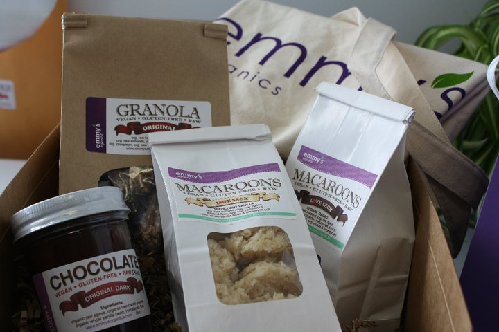 Click on the Gift Basket to check out Emmy's Organics website to learn ALL about their amazing products!!