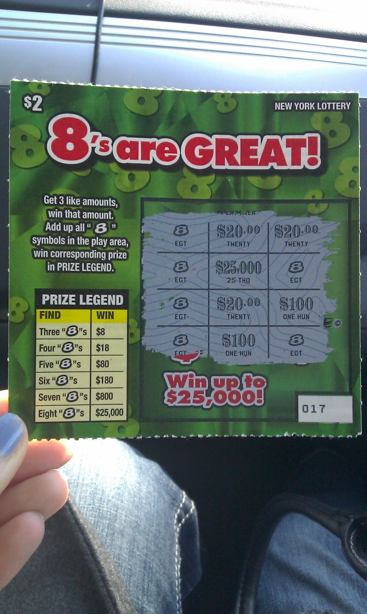 """Spend just a few dollars on a lottery ticket - the first one you see. *Expect* to win. Then say """"THANK YOU."""""""